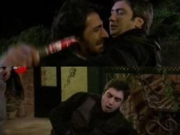 Kurtlar Vadisi Pusu, 80. Bölüm , Abdulhey Polat Alemdar'ı Bıçakladı